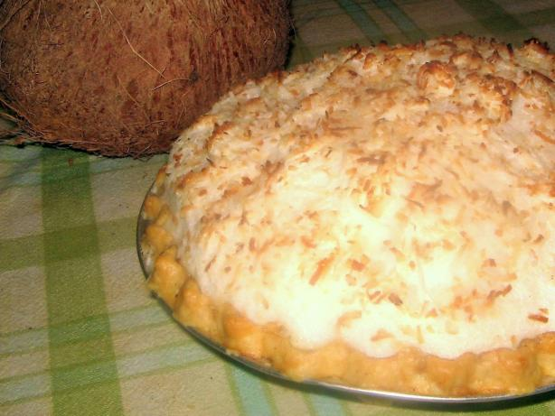 Coconut Cream Pie from Heaven