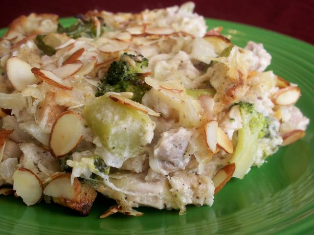 Chicken Swiss Casserole