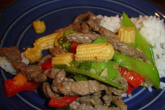Szechwan Beef Stir-Fry Us Family Style