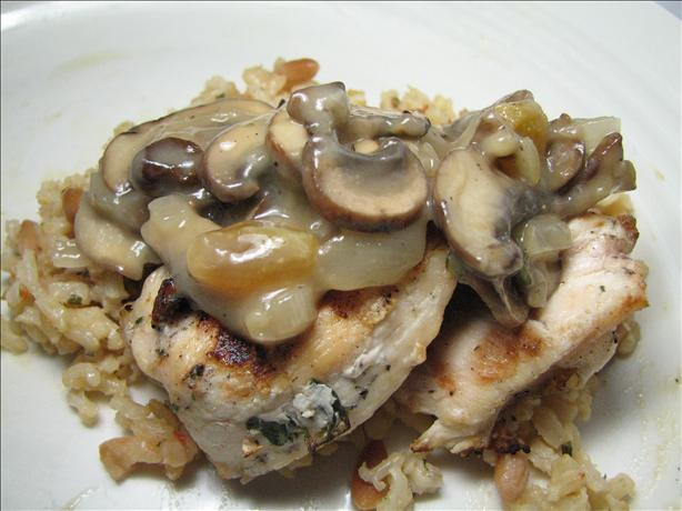 Spanish Style Chicken (Grilled With Raisin Wine Sauce)