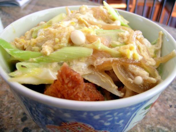 Katsudon (Japanese Dish)