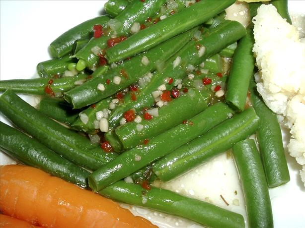 Italian Green Beans With Tarragon