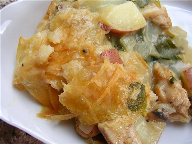 Country Chicken Casserole Pie