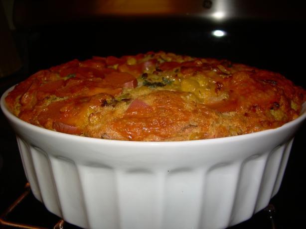 Healthier Cheesy Cornbread Casserole