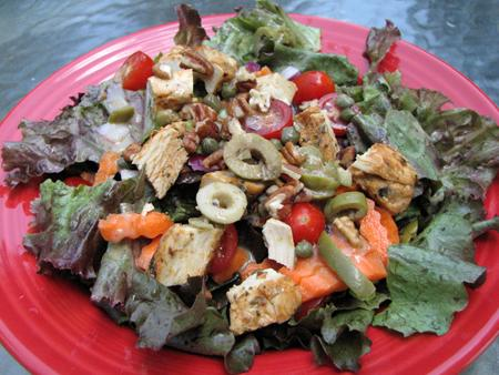 Chicken Salad With Maple Vinaigrette