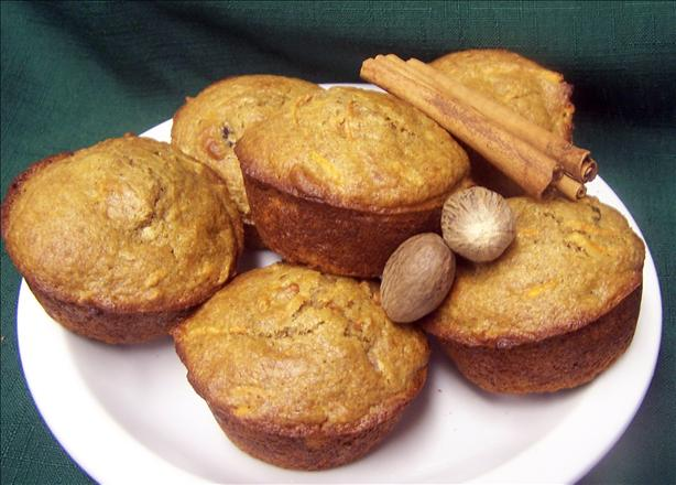 Cha-ching! Carrot Spice Muffins