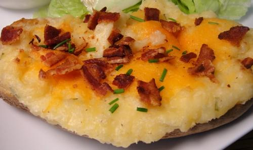 Freezable Twice Baked Potatoes -- OAMC