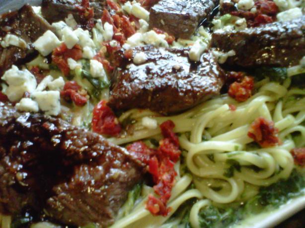 Steak Gorgonzola à La Olive Garden