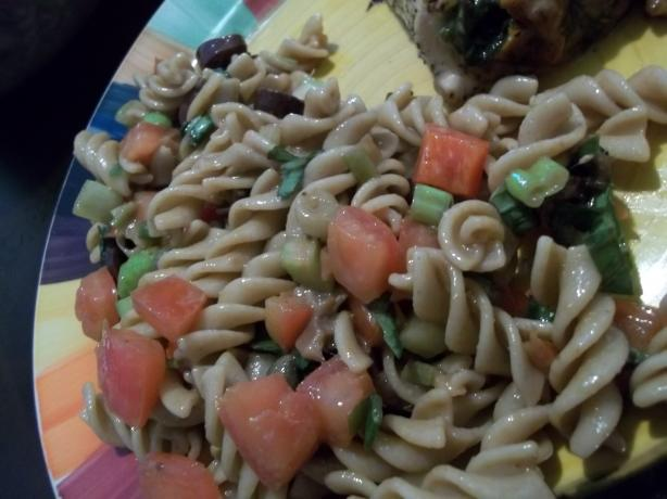 Mediterranean Fusilli Pasta Salad