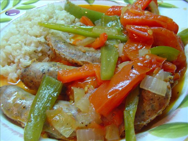 Sausages & Bell Peppers