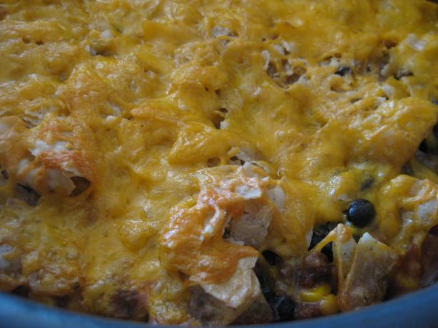 Upside Down Nacho Bake