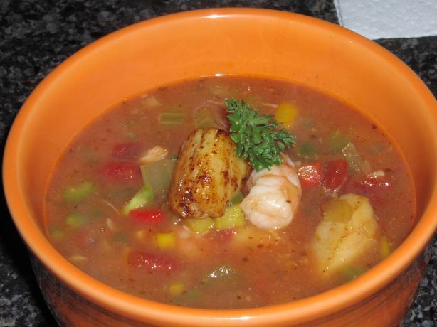 Seafood Stew (Crock Pot)
