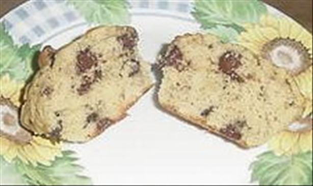 Banana Choco Chip Muffins