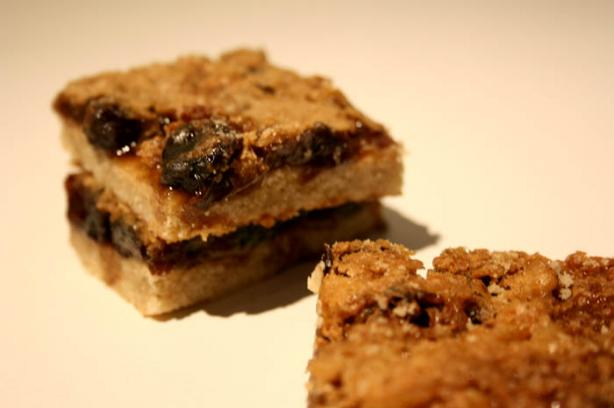 Amazing Coconut-Raisin Butter Tart Bars