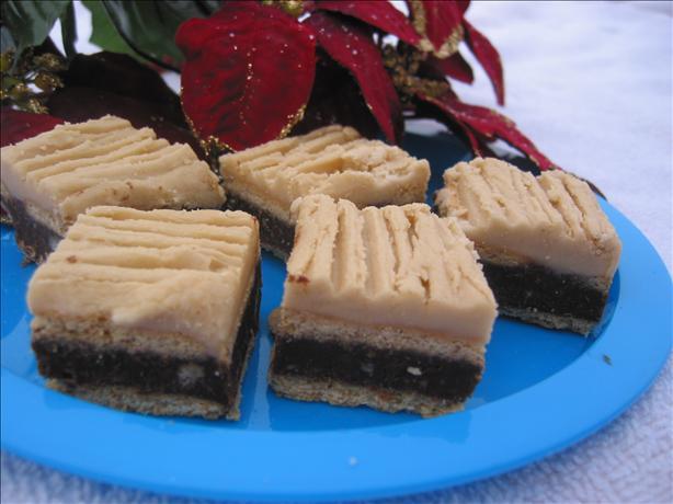Chocolate Graham Pecan Squares