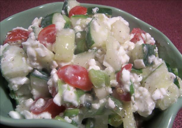 Cottage Style Cucumber Salad