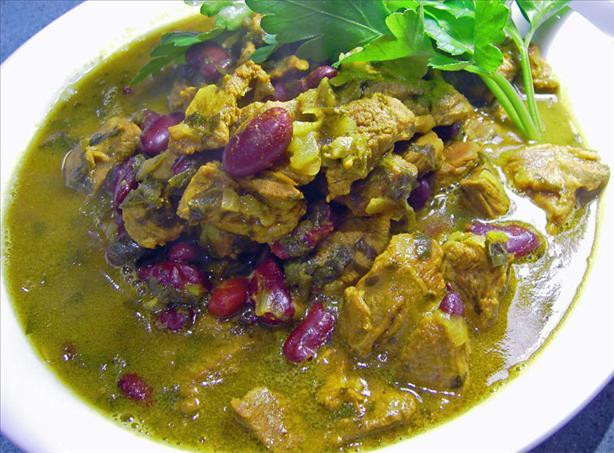 Beef & Bean Khoresh (a Persian Beef Stew)