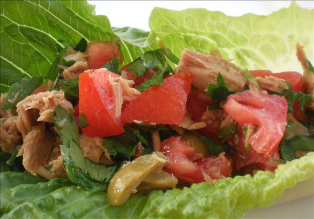 Lebanese Inspired Tuna Salad