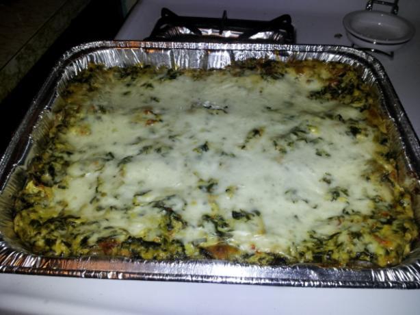 White Vegetable Lasagna
