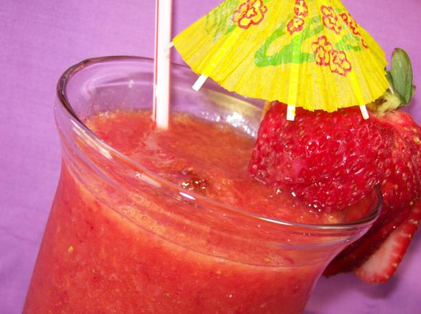 Sommer's Slushy Strawberry Mandarin Brain Freeze
