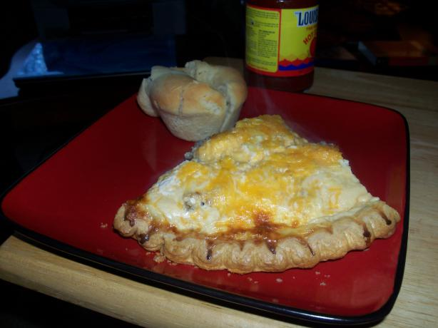 Cheddar Cheesy Meat Pie