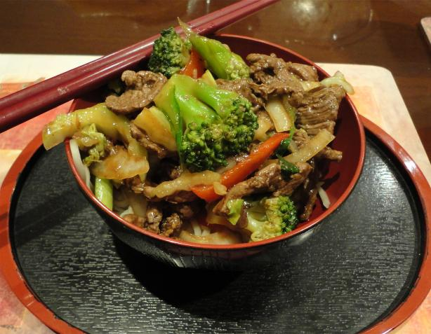 Beef Stir Fry - Asian Style