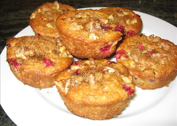 Healthy Cranberry Muffins