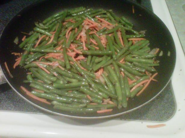 Indian Style Green Beans