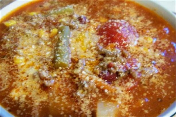 Homestyle Minestrone Soup
