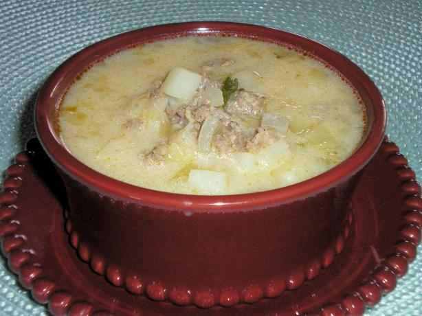 The Best Potato-Sausage-Cabbage Soup