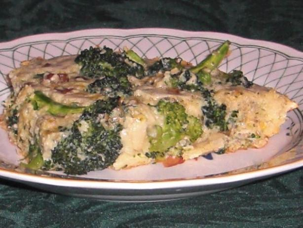 Broccoli Two Cheese Frittata