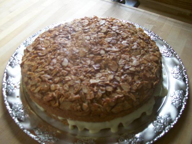 South African Beesting Cake With Custard Filling