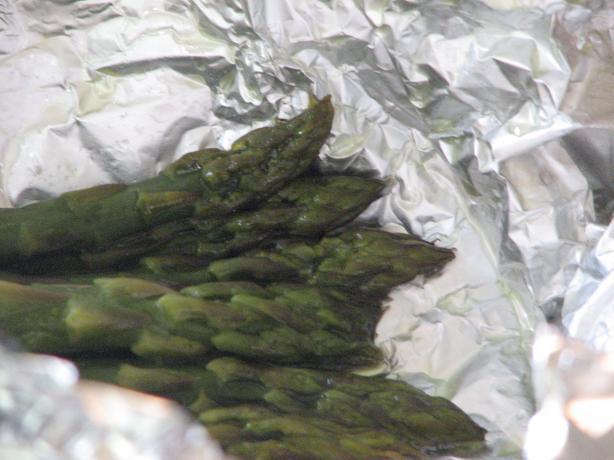 Foil Baked Asparagus