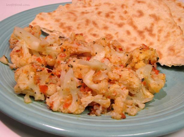 Cavolfiore Stufato (Italian Stewed Cauliflower)