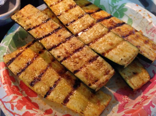 Grilled Yellow Squash and Zucchini