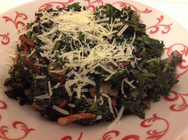 German-Style Spinach (Or Chard)
