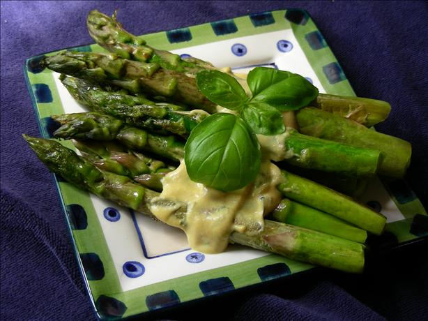 Warm Asparagus With Tarragon Vinaigrette
