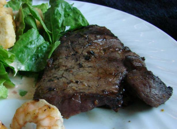 Orange-Glazed Flank Steak