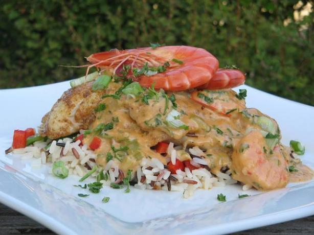 Cajun Catfish Supreme (Can Substitute Trout or Even Chicken)