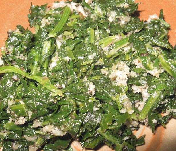 Italian Spinach Saute