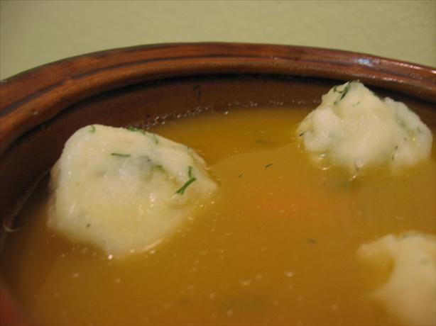 Gluten-Free Potato Kneidlach / Non-Gebrokts Soup Dumplings