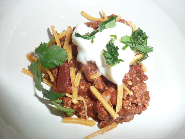 Easy Turkey Chili Mole from Longmeadow Farm