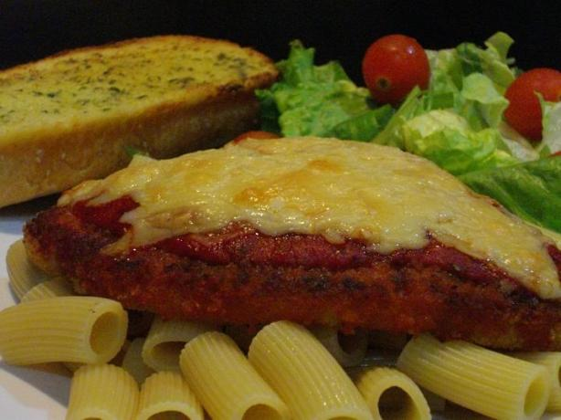 Chef Flower's Cheat Chicken Parmigiana