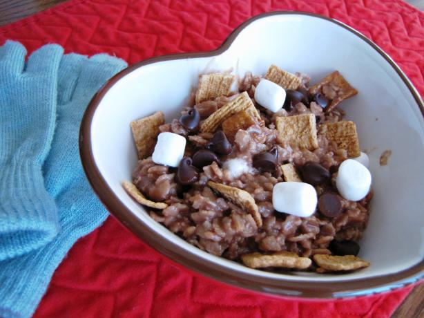S'mores Oatmeal for One