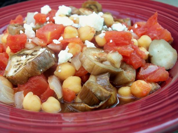 Arabic Eggplant (Aubergine) Stew
