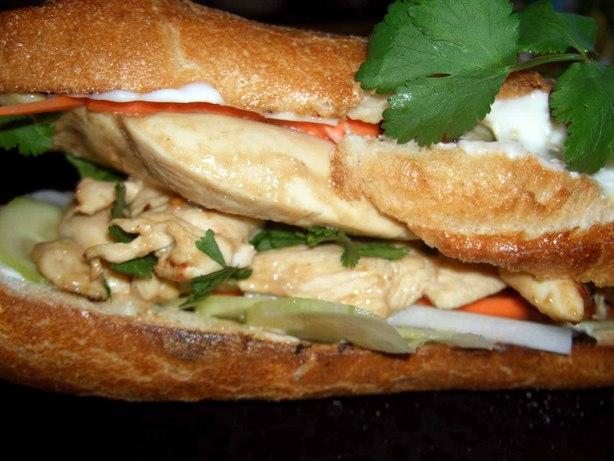Vietnamese Sandwiches (Bánh Mi)