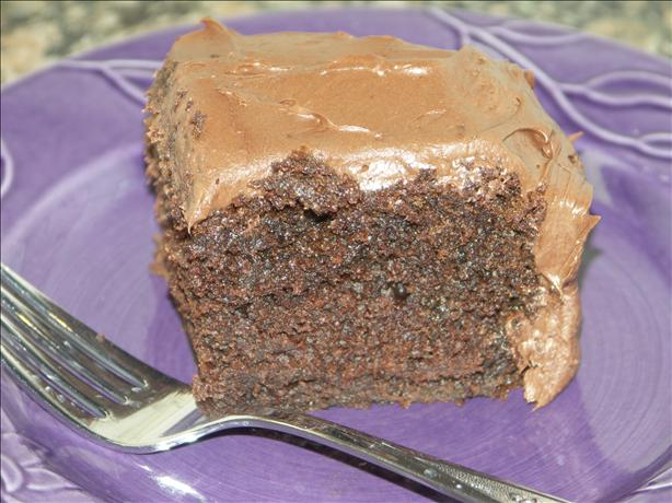 Extra Moist Chocolate Fudge Snack Cake