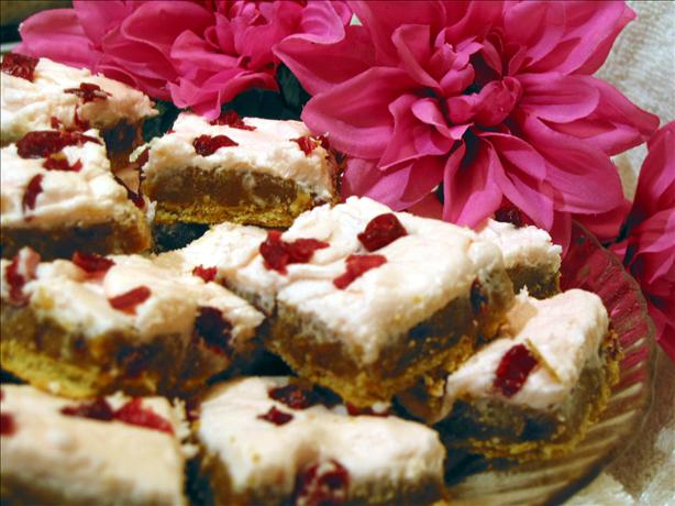 Cranberry Butterscotch Squares
