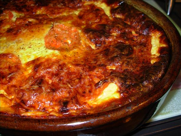 French Tian D' Aubergines - Gratin of Aubergines/Eggplant
