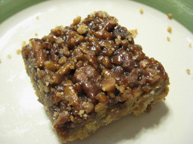 Pecan Pie Bar Cookies
